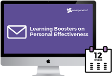 Learning Boosters on Personal Effectiveness